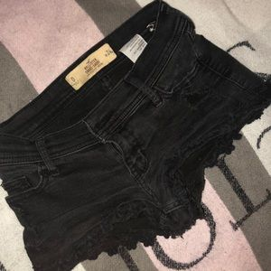 Hollister black shorts